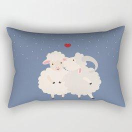 Sheep Series [SS 01] Rectangular Pillow