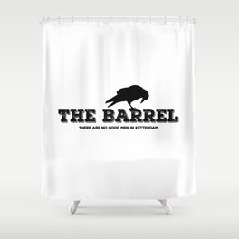 The Barrel Shower Curtain