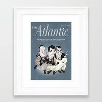 ghost busters Framed Art Prints featuring Heebie-Jeebie Busters by Ivan Guerrero