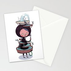 Bath Suit Stationery Cards