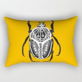 Sunset Amiga Beetle Rectangular Pillow