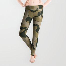 Camouflage Duffel Bag - Khaki Leggings