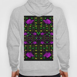 pure roses in the rose garden of love Hoody