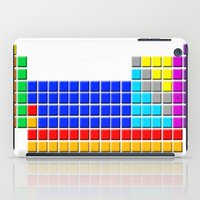 periodic table iPad Cases featuring PERIODIC TABLE OF ELEMENTS by darlthedreamer