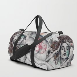Remembering Days Of Yore: Wine Duffle Bag