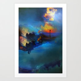 Time keepers Art Print