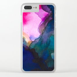 Color layers 4 Clear iPhone Case