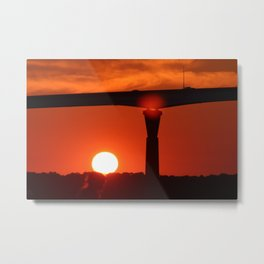 Sunset over the Patuxent Metal Print