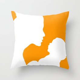New Mum with Baby  Throw Pillow