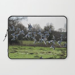 J L's Flock Laptop Sleeve