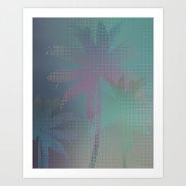 Palm Stories Art Print