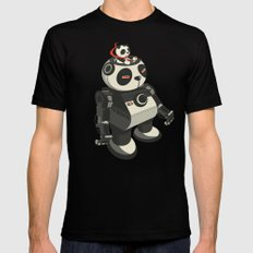 Mecha-Panda Mens Fitted Tee Black MEDIUM
