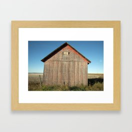 672 Grain Sheds 2 Framed Art Print