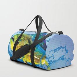 Dolphin Fish Duffle Bag