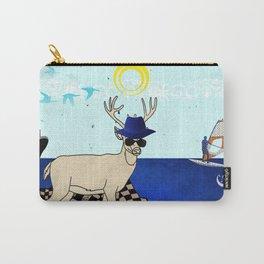 Reindeer on summer break Carry-All Pouch