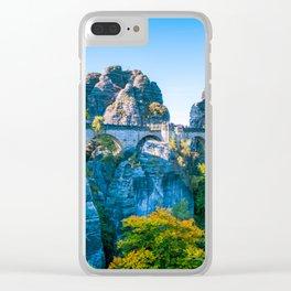 Basteibrücke Clear iPhone Case