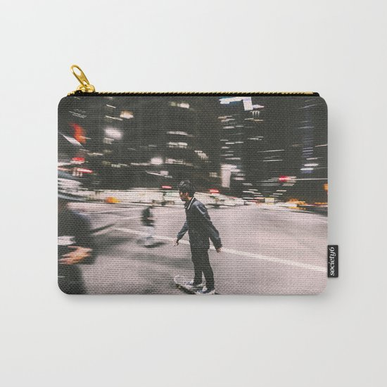 Skate in street 4 Carry-All Pouch