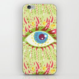 Front Looking Psychedelic Eye iPhone Skin