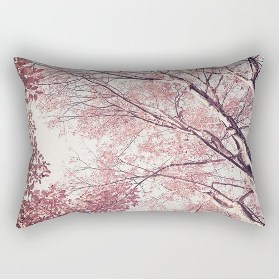 The Trees – Pink n' Bright Rectangular Pillow