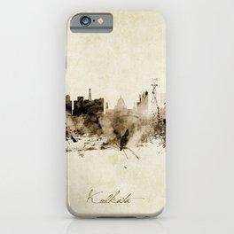 Kolkata India Skyline iPhone Case