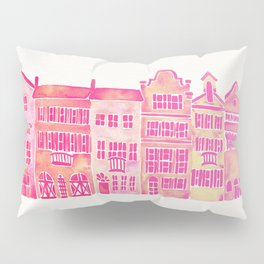 Tropical Homes – Pink Ombré Pillow Sham