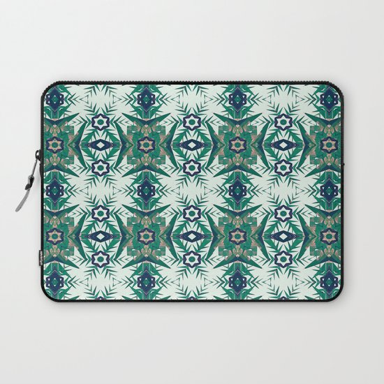 Tropical Snowflakes Laptop Sleeve