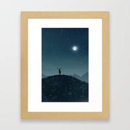The Hart Framed Art Print