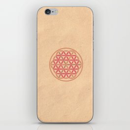 La Flor de la Vida iPhone Skin