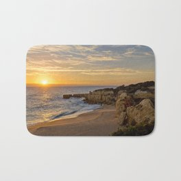 Algarve sunset, Portugal Bath Mat