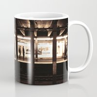 jewish Mugs featuring Rush Hour by Brown Eyed Lady