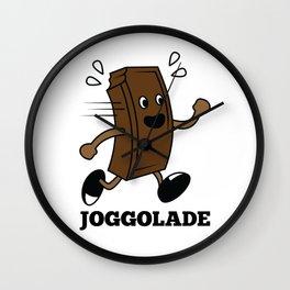 Joggolade Chocolate Choco Sweets Cupcake Cake Design Wall Clock
