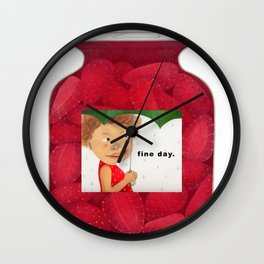 fine day. Wall Clock