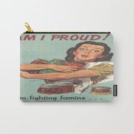Vintage poster - Am I Proud? Carry-All Pouch
