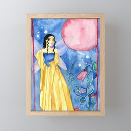 Fairy Moon Magic Framed Mini Art Print