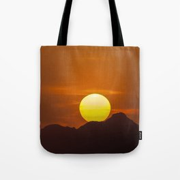"""""""Desert Sunset 1"""" by Murray Bolesta Tote Bag"""