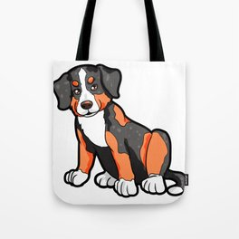 Appenzeller Dog Doggie Puppy Dogs Cute Happy Gift Tote Bag