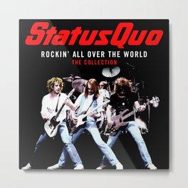 status quo rockin world tour 2020 muncrat Metal Print