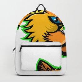 Selkirk Rex Cat Mascot Backpack