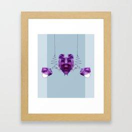 False Pursuit of Happiness Framed Art Print