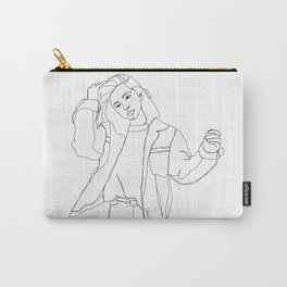 Fashion illustration drawing - Caleb Carry-All Pouch