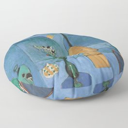 The Blue Window, Issy-les-Moulineaux, 1913 by Henri Matisse, Artwork Design, Poster Tshirt, Tee, Jer Floor Pillow