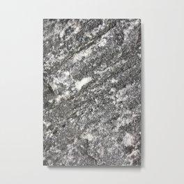 Granite Stone Metal Print