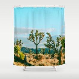 Joshua Tree Social Shower Curtain