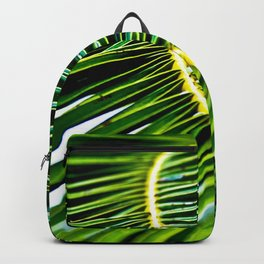 Green Palm Poetry Backpack