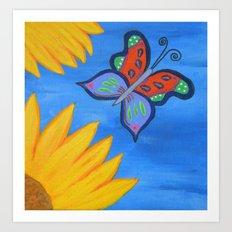 Butterfly Banquet Art Print