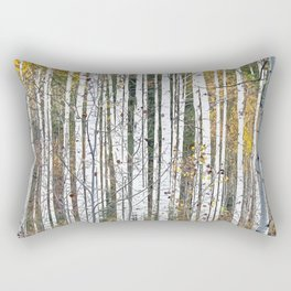 Aspensary forests Rectangular Pillow