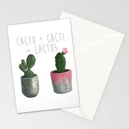 Cactu + Cacti = Cactus Stationery Cards