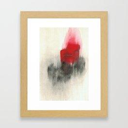Combustion Framed Art Print