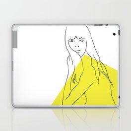 Yellow Portrait 1 Laptop & iPad Skin