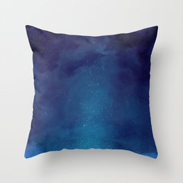 Galaxy Painting Throw Pillow
